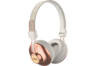 MARLEY Positive Vibration 2, On-ear Kopfhörer, Bluetooth, Copper