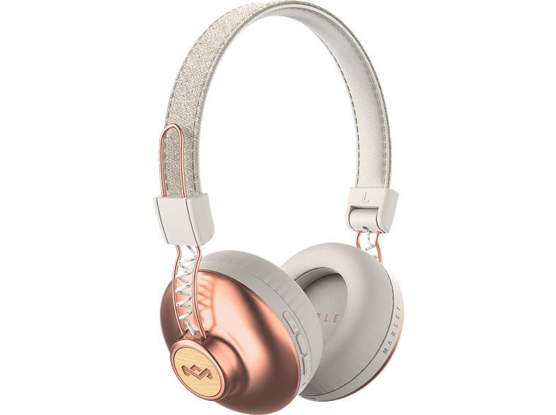 MARLEY Positive Vibration 2, On-ear Kopfhörer Bluetooth Copper
