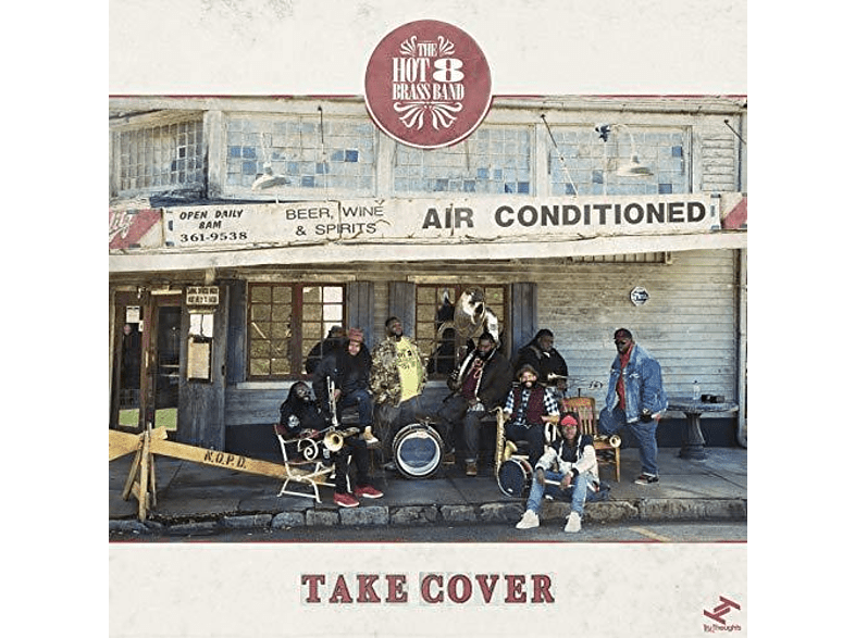The Hot 8 Brass Band - Take Cover [LP + Download]