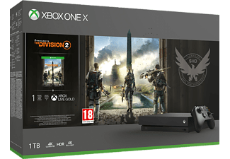 MICROSOFT Xbox One X 1TB The Division 2