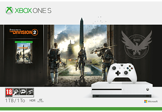 MICROSOFT Xbox One S 1TB The Division 2