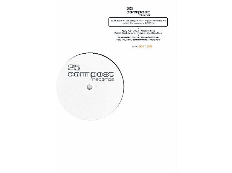 VARIOUS - 25 COMPOST RECORDS - OVERTURE 3 [Vinyl]