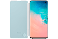 SAMSUNG Clear View Cover , Bookcover, Samsung, Galaxy S10, Weiß
