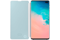 SAMSUNG Clear View Cover , Bookcover, Samsung, Galaxy S10+, Weiß
