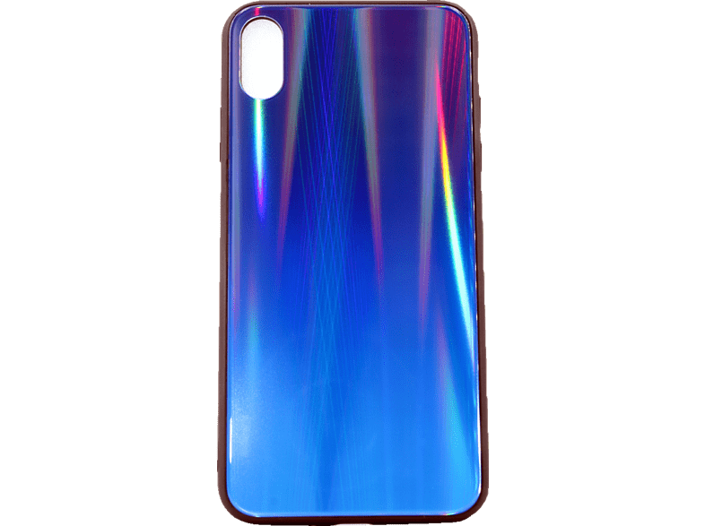 AGM  28019 Polar Backcover Apple iPhone XS Max Gehärtetes Glas, Thermoplastisches Polyurethan Blau/Mehrfarbig | 04026436280195