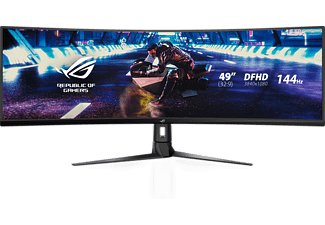 ASUS XG49VQ   Gaming Monitor (4 ms Reaktionszeit, FreeSync 2, 144Hz)