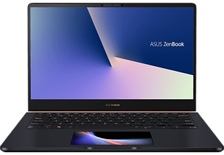 ASUS UX480FD-BE054T, Notebook mit 14 Zoll Display, Core™ i7 Prozessor, 16 GB RAM, 256 GB SSD, GeForce GTX 1050 MAX Q, Deep Dive Blue Metal