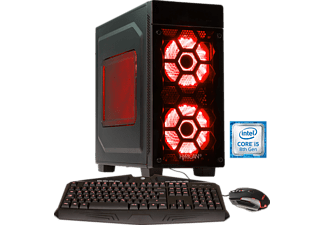 HYRICAN STRIKER 6276, Gaming PC mit Core™ i5 Prozessor, 8 GB RAM, 240 GB SSD, 1 TB HDD, Geforce® RTX 2060, 6 GB