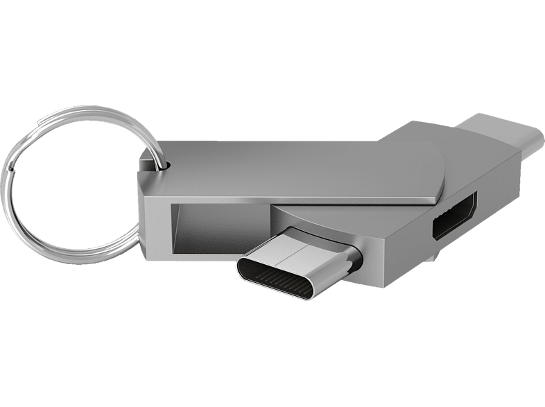 TERRATEC CONNECT C500, Adapter, Silber