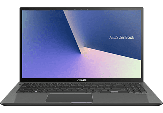 ASUS ASUS ZenBook Flip 15 (UX562FA-AC096T), Notebook mit 15.6 Zoll Display, Core i7 Prozessor, 16 GB RAM, 1 TB SSD, Intel UHD Grafik 620, Gun Metal
