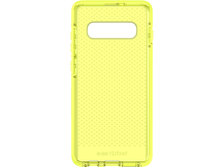 TECH21 Evo Check , Backcover, Samsung, Galaxy S10+, Gelb