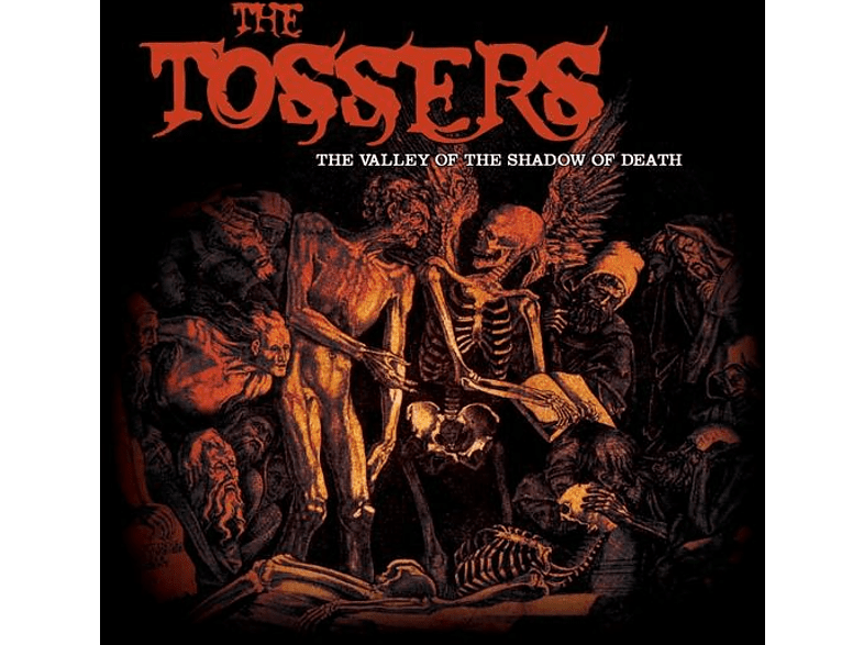 The Tossers - The Valley Of The Shadow Of Death (Clear Orange LP [Vinyl]