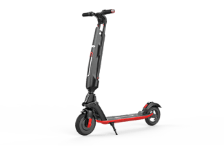 BE COOL E Scooter BC-ESC100BKRD, schwarz/rot