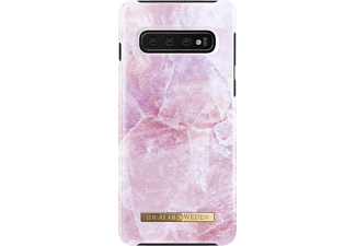 IDEAL OF SWEDEN Fashion Handyhülle, Pilion Pink Marble, passend für Samsung Galaxy S10