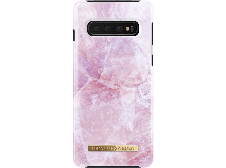IDEAL OF SWEDEN  Fashion Backcover Samsung Galaxy S10 Pilion Pink Marble | 07340168711442