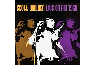 Scott Walker - LIVE ON AIR 1968 (LTD./180G./PURPLE VINYL) - (Vinyl)