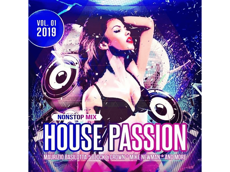 VARIOUS - House Passion 2019/Vol.1 [CD]