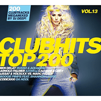VARIOUS - Clubhits Top 200 Vol.13 [CD]