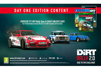 DiRT Rally Day One Edition 2.0 NL/FR PS4
