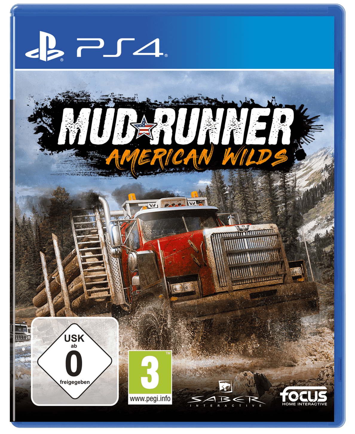 MudRunner American Wilds Edition für PlayStation 4