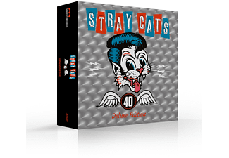 Stray Cats - 40 (Limited CD Deluxe Edition+Bonustrakcs+Merch) - (CD + Merchandising)