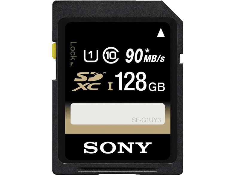 SONY SDXC Performance 128GB Class 10 UHS-1 U1, SDXC Speicherkarte, 128 GB, 90 MB/s