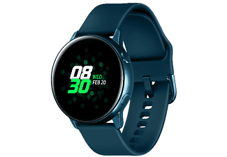 "Smartwatch - Samsung Galaxy Watch Active, 1.1"" AMOLED, HR, GPS, Bluetooth, Wi-Fi, NFC, Verde"