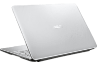 ASUS R543UA-DM1607T, Notebook mit 15.6 Zoll Display, Core™ i5 Prozessor, 8 GB RAM, 256 GB SSD, Intel UHD Graphics 620, Transparent Silver