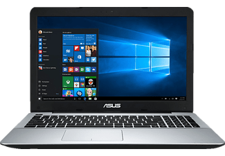 ASUS F555QA-XO360T, Notebook mit 15.6 Zoll Display, Quad Core Prozessor, 4 GB RAM, 256 GB SSD, AMD Radeon R7 Grafik, Matt Black