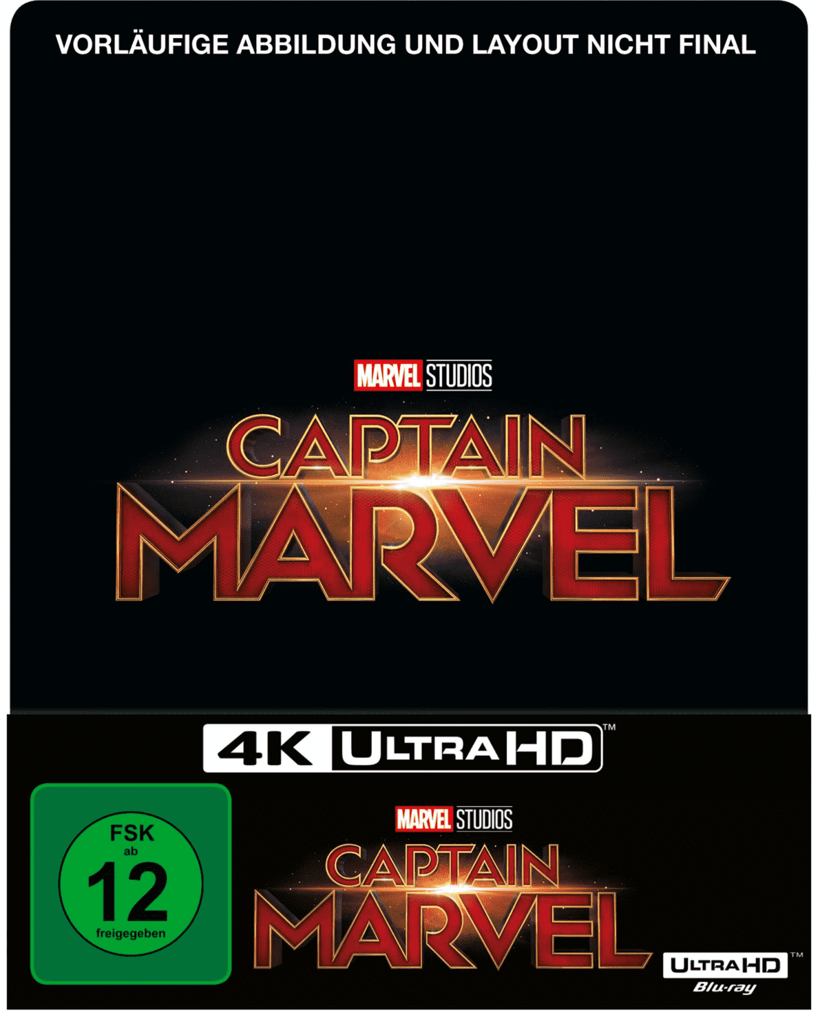 Captain Marvel Limited Steel-Book auf 4K Ultra HD Blu-ray