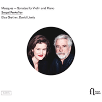 Grether,Elsa/Lively,David - Masques-Sonaten für Violine & Klavier [CD]