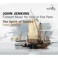 The Spirit Of Gambo - Consort Music For Viols In Five Parts [CD]