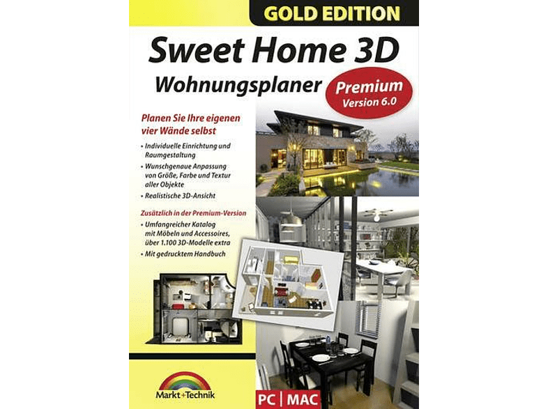 Sweethome 3D 6.0 GOLD