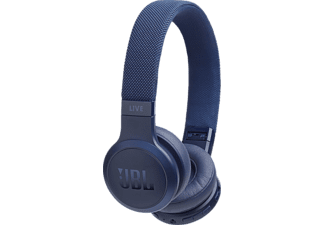 JBL Live 400 BT, On-ear Kopfhörer, Headsetfunktion, Bluetooth, Blau