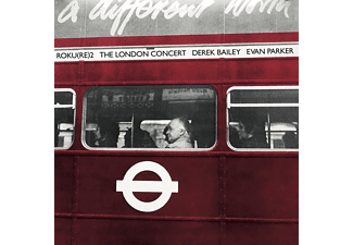 Derek Bailey & Evan Parker - The London Concert - (Vinyl)