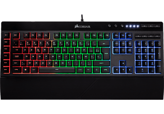 CORSAIR Clavier gamer K55 RGB AZERTY (CH-9206015-BE)