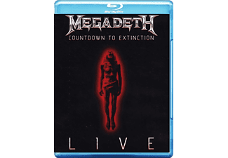 Megadeth - Countdown To Extinction: Live Blu-ray