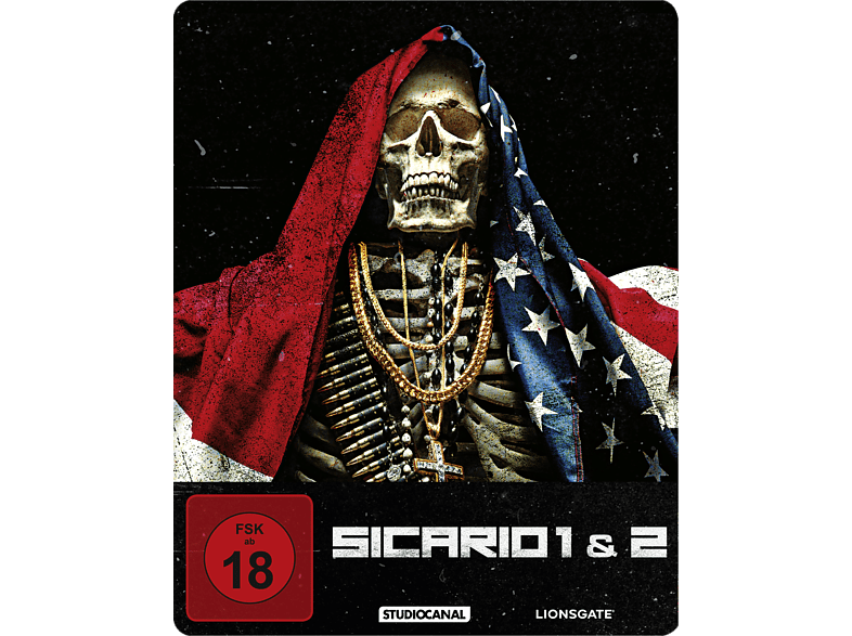 Sicario 1 & 2 (Limited Steel-Edition) [Blu-ray]
