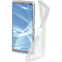 HAMA Crystal Clear Backcover Sony Xperia 10 Plus Thermoplastisches Polyurethan Transparent