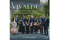 L'archicembalo - Vivaldi:Complete Concertos And Sinfonias [CD]