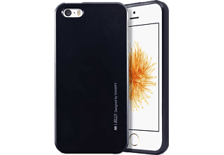 MERCURY iJELLYIP5 iPhone 5/5S/SE TPU Tok, fekete