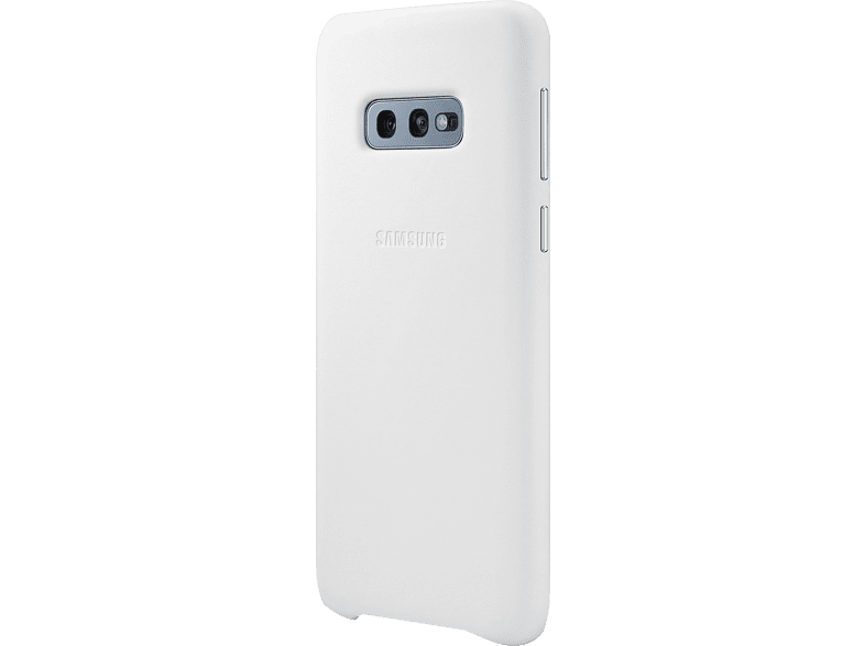 SAMSUNG Leather Cover , Backcover, Samsung, Galaxy S10e, Echtleder, Weiß