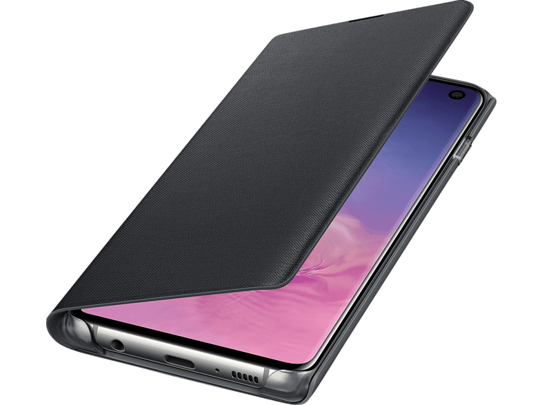 SAMSUNG LED View Cover , Bookcover, Samsung, Galaxy S10, Schwarz