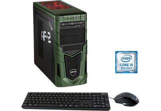 HYRICAN MILITARY GAMING 6290, Gaming PC mit Core™ i5 Prozessor, 16 GB RAM, 1 TB HDD, GeForce® GTX 1660 Ti, 6 GB