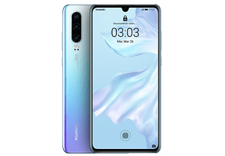 "Móvil - Huawei P30, OLED 6.1"" Full HD+, Kirin 980, 6 GB, 128 GB, Blanco"