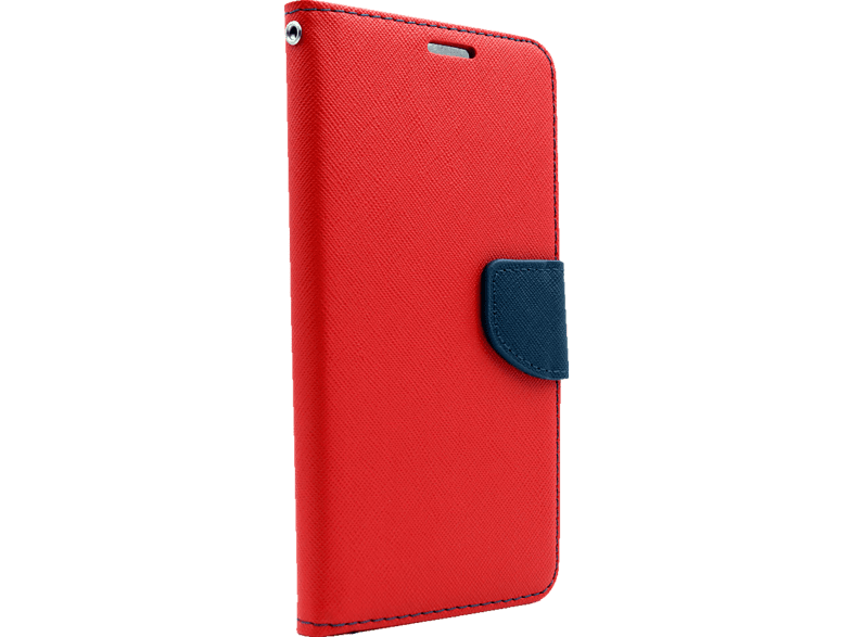 AGM  28269 Fashion Bookcover Xiaomi Mi A1 Obermaterial Kunstleder, Thermoplastisches Polyurethan Rot/Dunkelblau | 04026436282694
