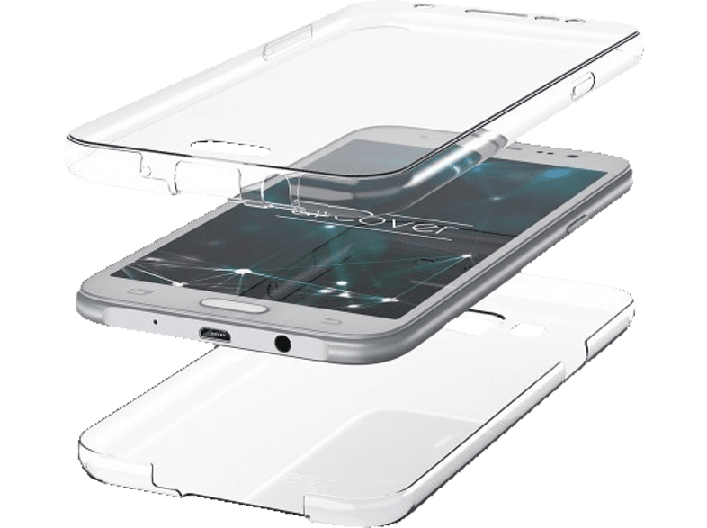 AGM 28272 Full Cover Xiaomi Mi 8 Lite Thermoplastisches Polyurethan Transparent