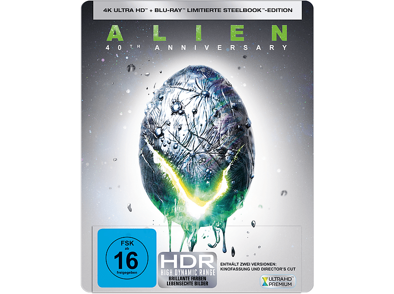 ALIEN 40TH (SteelBook®) [4K Ultra HD Blu-ray]