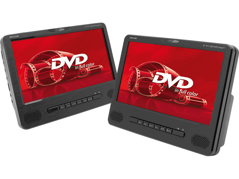 CALIBER MPD298 Tragbarer DVD Player, Schwarz
