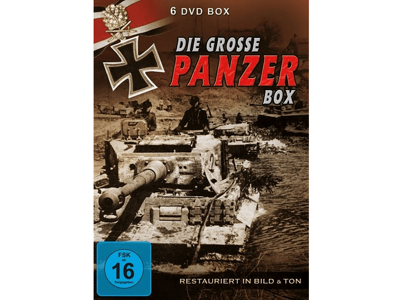 Die Grosse Panzer Box [DVD]